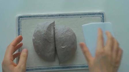 教你做日式黑米小面包, 还是芋泥馅的哦, 我的最爱啊