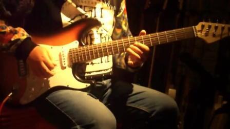 扣人心弦的电吉他独奏 李荣浩-何以笙箫默-不将就, 超级好听