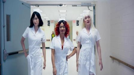 三人爆笑变身女装大佬,配上这个背景音乐,看