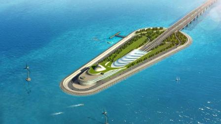 港珠澳大桥是世界上最长的跨海大桥, 还拥有最新行的海底隧道