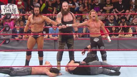 WWE2018年10月26日狂野角斗士之美国职业摔角