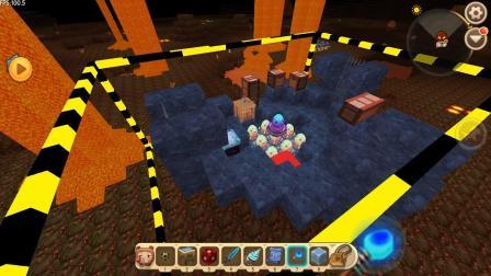 迷你世界: 利用新版方块复制器复制远古黑龙的巢穴