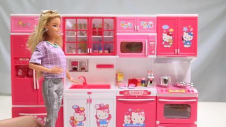 hello kitty 凯蒂猫之白雪公主厨房玩具, 灰姑娘介绍中文版动画