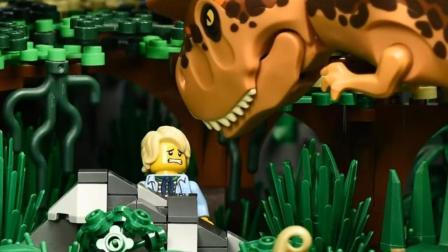 乐高: 侏罗纪公园遇恐龙 原来只是一场梦