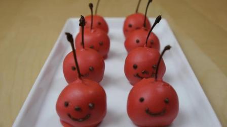 教你自制迷你的樱桃巧克力蛋糕, 一口一个好吃的停不下来, 超美味!