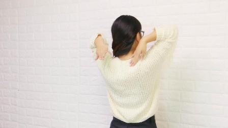 颈椎不好的人, 每天做2个小动作, 疏通淤堵, 颈椎肩膀好轻松