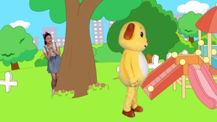 多吉律动儿歌:小狗狗跑来跑去找朋友