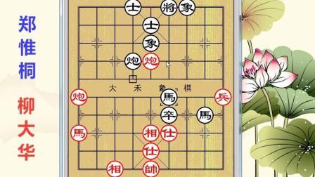 大禾象棋讲解: 象甲联赛精选, 柳大华对战郑惟桐, 非常精彩的一局棋