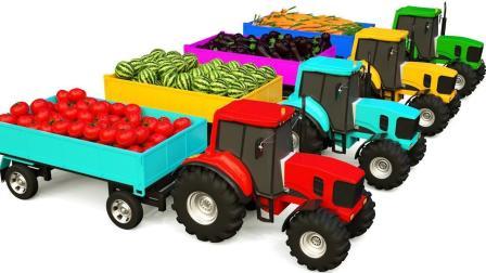 挖掘机帮助自卸卡车运输货物