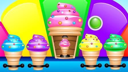 冰淇淋机制作缤纷甜筒玩具