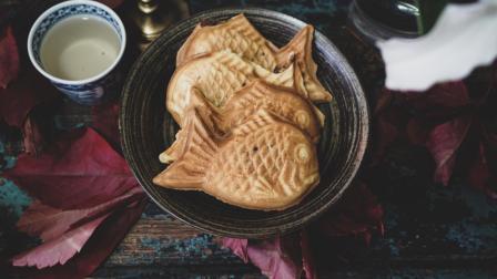 我的日常料理 第一季 3分钟教你制作日本街头超流行的小吃-日式红豆鲷鱼烧
