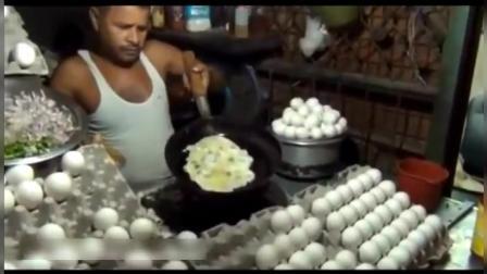 印度街头小吃土司包蛋, 刚开始我还以为是销售鸡蛋的