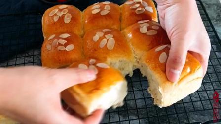 蜂蜜配椰蓉, 做出美味蜂蜜椰蓉小面包, 1次能吃5个, 好吃的停不下来