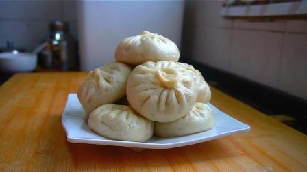 萝卜粉条包子的家常做法, 皮薄馅鲜, 香辣咸香, 一顿三个不够吃