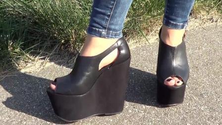 多高才叫叫高跟鞋? 试试这款就知道了