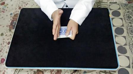 魔术教学: 教你一招, 砍牌找牌, 用手直接砍出观众选的牌, 曾经难倒很多人, 看luwichen教学!