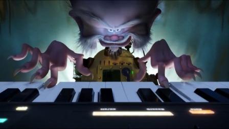 《精灵旅社3:疯狂假期》艾丽卡沮丧坦白真实身份,范海辛演奏魔性音乐召唤海怪
