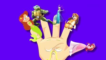 亲子早教动画 给小马驹, 忍者神龟, 迪斯尼公主, 齐格和鲨鱼找位置!