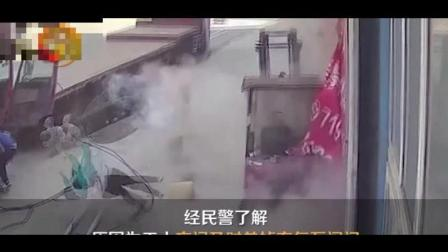 轮胎爆炸的威力很可怕