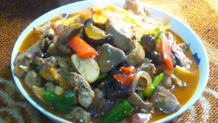 美味红椒爆炒卤煮鸡肝, 美味家常菜, 这样做法你吃过吗?