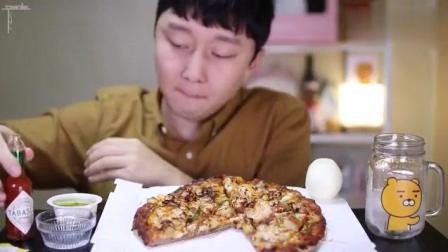 韩国小吃披萨, 这披萨看着直流口水