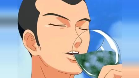 网球王子: 谁教你不听龙马众人的劝阻, 喝下乾的特制饮料, 这下好了吧!