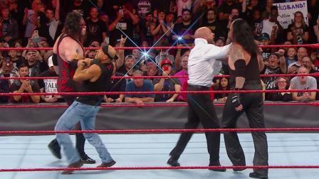 WWE2018年10月28日狂野角斗士之美国职业摔角