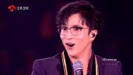 段子手薛之谦搭档名模林志玲说脱口秀, 跨年晚会最好看的节目!