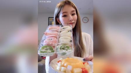 糯米糍香橙蛋糕椰蓉巧克力派