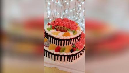 【双层蛋糕】双层蛋糕制作过程