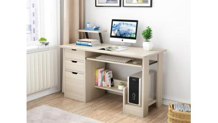 电脑桌A96简易款120CM(麻烦给个五星好评, 谢谢亲~)