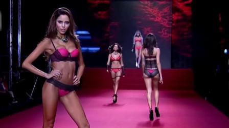 Medellín 哥伦比亚内衣秀, 性感妩媚的超模展示时尚内衣, 尽显华贵气质!