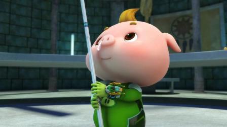 小猪猪: 小猪猪终于拿到了蛋了