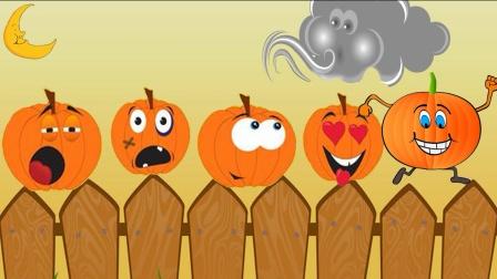 01 5 Little Pumpkins Kids Songs