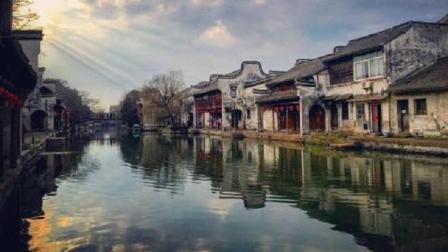江南水乡古镇, 全国唯一的多元素的建筑特色, 像是一座历史展馆