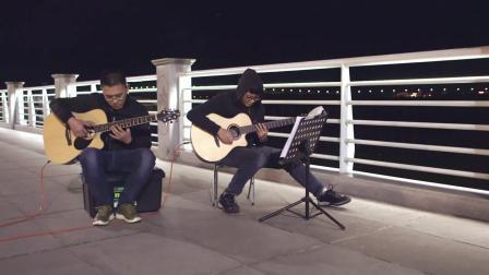 张国荣《倩女幽魂》双吉他弹奏  相貌平平却才华横溢  弹的优美动听堪称经典艺术作品