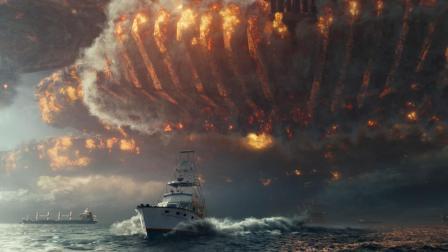 外星人卷土重来, 对地球发起猛攻, 一艘飞船大到能遮天, 末日要来!