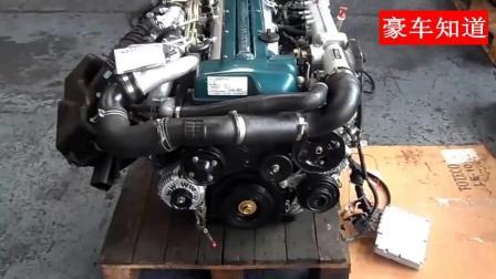 实拍丰田涡轮增压发动机, 启动听听发动机声音如何