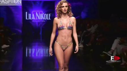 LILA NIKOLE迈阿密泳装秀, 超模对时尚的追求永不止步!
