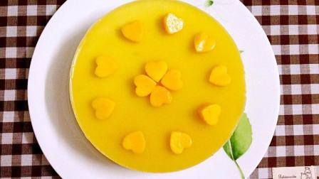 家庭版芒果慕斯蛋糕