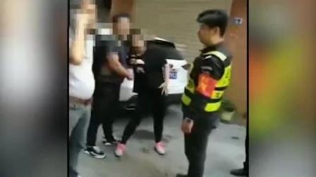 网传深圳某村领导街头掌掴孕妇, 视频曝光事发过程