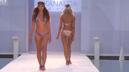 HAMMOCK 迈阿密泳装秀, 时尚可爱的比基尼, 被超模
