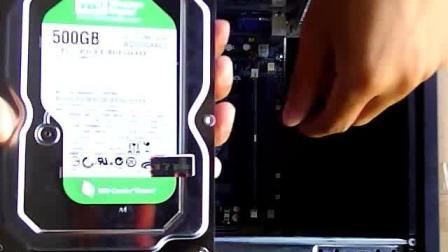 电脑入门维修组装全新电脑系统叶身潭教程视频3