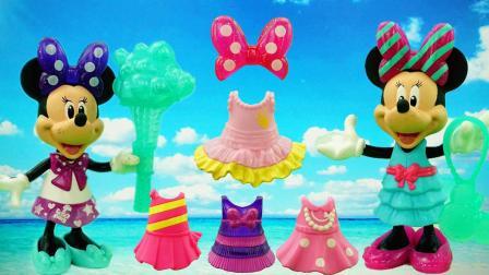 米奇妙妙屋米妮的换装派对过家家儿童玩具