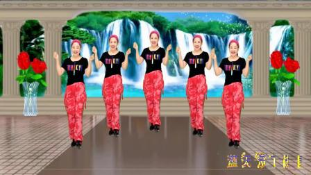 蓝天云广场舞 弹跳24步《九妹》附教学口令, 好看好学