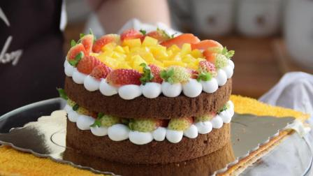 裸蛋糕装饰教程