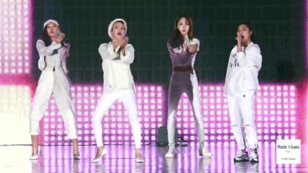 韩国女团现场热舞, 其中一个小姐姐, 我想让她做我女朋友
