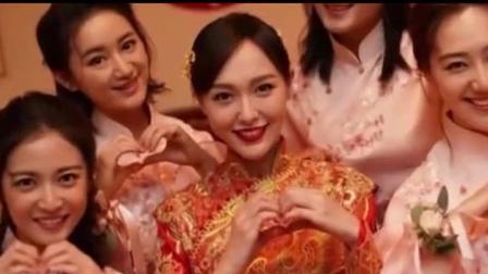喜庆! 唐嫣罗晋婚礼现场图曝光 两人身穿中式礼服幸福甜笑