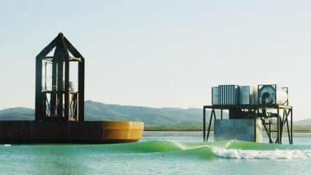 超夯的海浪制造机 让风平浪静的水面瞬间波涛汹涌