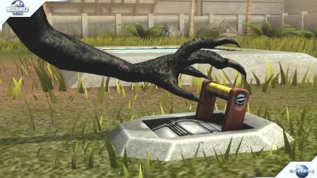 肉肉 侏罗纪世界恐龙游戏1287暴虐迅猛龙!